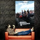 Fast And Furious 6 Movie 2013 Huge 47x35 Print Poster