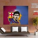 Lionel Messi Art Barcelona Football Soccer HUGE GIANT Print Poster