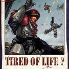 StarCraft Propaganda Marines Game Art 16x12 Print Poster