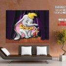 Dumbo Walt Disney Art Huge Giant Print Poster