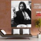 John Lennon Bw Music Legend Huge Giant Print Poster