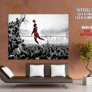 Michael Jordan Dunk Nba Basketball Huge Giant Print Poster