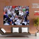 Brandon Marshall Denver Broncos Nfl Football Sport Huge Giant Poster