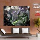 Star Wars Jedi Lightsabers Battle Art HUGE GIANT Print Poster