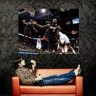LeBron James Dwyane Wade Alley Oop NBA Huge 47x35 Print POSTER