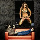Candice Michelle WWE Hot Sexy Girl Huge 47x35 Print Poster