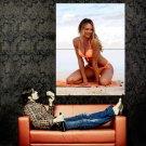 Candice Swanepoel Sexy Bikini Hot Model Huge 47x35 Print Poster