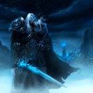 World Of Warcraft WoW Arthas Art 32x24 Print POSTER