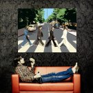The Beatles Abbey Road Vector Art Music Huge 47x35 POSTER