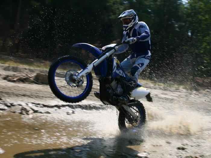 Husaberg FE570 S Wheelie Cross Sport Bike Motorcycle 16x12 POSTER