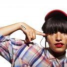 Ana Tijoux Singer Hip Hop Rap Trip Hop Music 16x12 Print POSTER