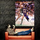 Larry Bird Vs Magic Johnson NBA Finals Huge 47x35 Print POSTER