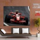Kimi Raikkonen F1 Racing Formula One HUGE GIANT Print Poster