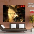 Star Wars Han Solo Chewbacca Art Huge Giant Print Poster
