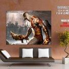 God Of War 3 Kratos Art Video Game Huge Giant Print Poster
