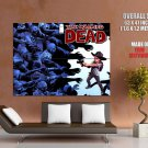 The Walking Dead Rick Grimes Zombies Comic Art Tv Huge Giant Print Poster