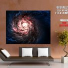 Galaxy Universe Hubble Stars Space Huge Giant Print Poster