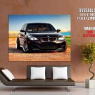 Bmw M5 E60 Black Car Huge Giant Print Poster