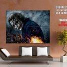 Heath Ledger Joker Dark Knight Art HUGE GIANT Print Poster