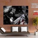 Alucard Hellsing Gun Blood Anime Art HUGE GIANT Print Poster
