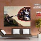 Mass Effect Painting Video Game Art HUGE GIANT Print Poster