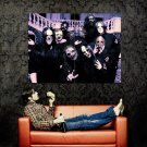 Slipknot Group Scary Masks New Music Huge 47x35 Print Poster