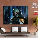 Boba Fett Star Wars Art Huge Giant Print Poster