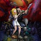 American Dad Rapture Demons TV Show 32x24 Print POSTER
