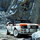 Audi Quattro Group 4 Rally Car 1981 Classic Sport 32x24 Print POSTER