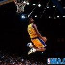 Kobe Bryant 8 Dunk Lakers NBA 16x12 Print POSTER