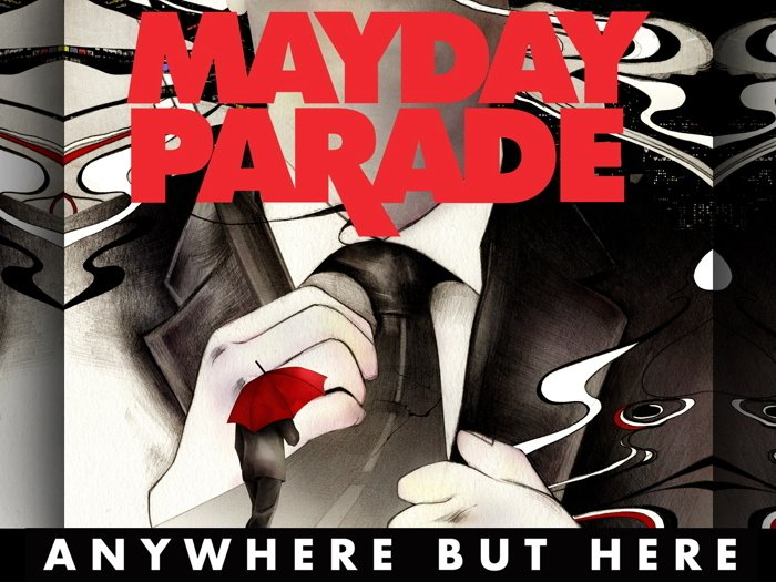 Mayday Parade Anywhere But Here Art 24x18 Print Poster