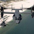 Bell Boeing V 22 Osprey Aircraft 16x12 Print Poster