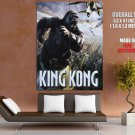King Kong Movie Drama Fantasy Huge Giant Print Poster