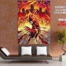 Flash Marvel Comic Art Huge Giant Print Poster