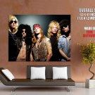 Guns N Roses Rock Band Music Group Huge Giant Print Poster