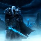 World Of Warcraft WoW Arthas Art 16x12 Print POSTER