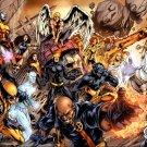 X Men Sentinel Head Angel Wolverine Storm Jean Grey 16x12 Print POSTER