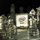 INTEL XEON Processor Glass Chess 16x12 Print Poster