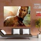 John Mc Clane Die Hard Bruce Willis Action Movie Huge Giant Poster