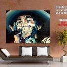 Bob Dylan Portrait Painting Art Music Huge Giant Print Poster