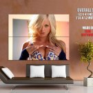 Lindsay Marie Busty Blonde Girl Sexy Huge Giant Print Poster