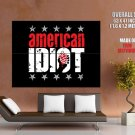 American Idiot Green Day Music Huge Giant Print Poster
