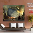 Sith Force Star Destroyer Star Wars HUGE GIANT Print Poster