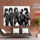 Black Veil Brides Glam Metal Hard Rock Music HUGE GIANT Print Poster