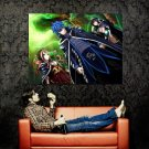 Jellal Fernandes Fairy Tail Anime Art Huge 47x35 Print Poster
