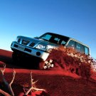 Nissan Patrol Red Desert Car 32x24 Print POSTER