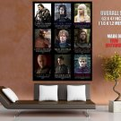 Game Of Thrones Character Alignment TV HUGE GIANT Print Poster