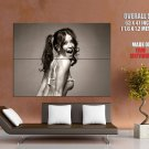 Evangeline Lilly Hot Actress Pin Up Bw Huge Giant Print Poster