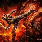 Mortal Kombat 9 Scorpion Game 16x12 Print Poster