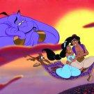 Aladdin Magic Carpet Disney Art 16x12 Print Poster